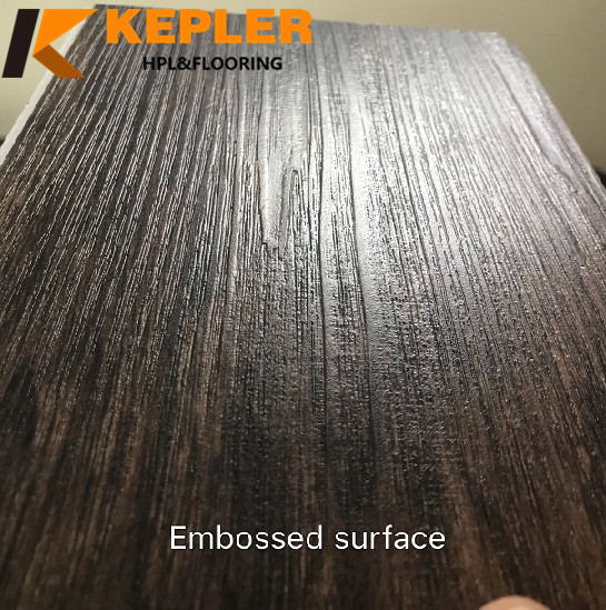 Embossed Surface Wood Composite Flooring